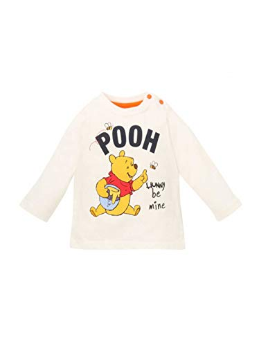 Winnie l'ourson T-Shirt Manches Longues bébé garçon Ecru de 3 à 24mois - Ecru, 18 Mois