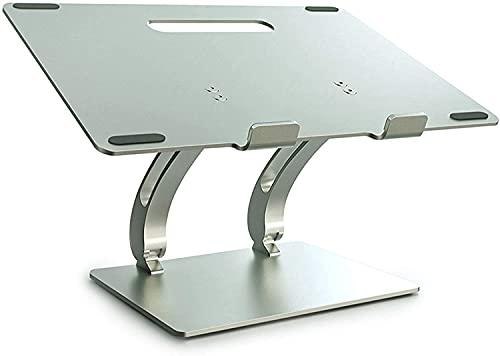 Compatible Con Escritorio Del Portátil De Oficina Compatible, 11 '' -17 '' Tabletas De Ipad Portátil Aluminio Aluminio Aleación De Aluminio Soporte Portátil Plegable Ergonómico Ventilado Plegable