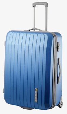 """Trolley-valigetta - 54 cm da CIAKRONCATO - """"driver"""", XXL-light, TSA, blu aggiuntive antracite"""