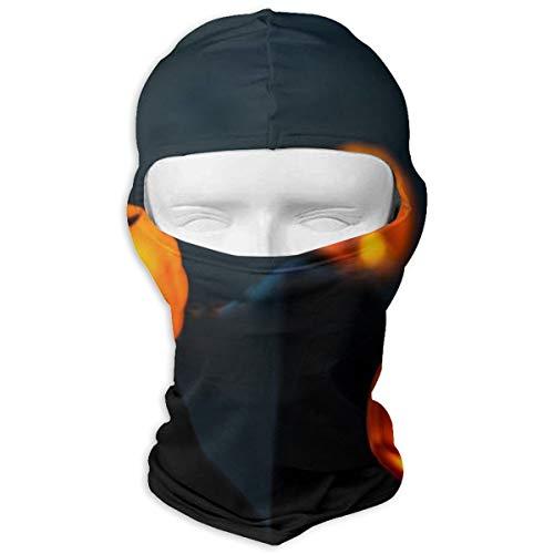 Sitear slinger pompoen halloween verlichting volledig gezicht masker kap hals warm voor mannen en vrouwen outdoor sport winddicht zonnebrandcrème aangepast