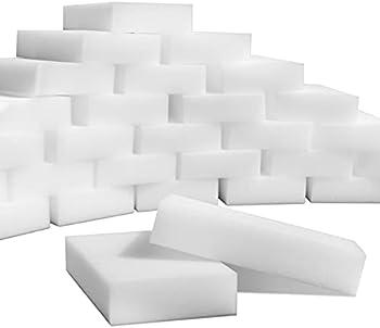 100-Pack SmilePowo Multi-Functional Magic Cleaning Sponges Eraser