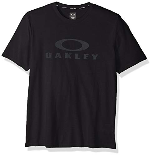Oakley Mens O Bark Camisa, Blackout, XL para Hombre