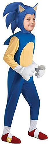 BTXX Carácter Sonic The Hedgehog Juego de los niños del Mono Cosplay Halloween de los niños