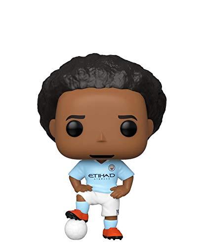 Funko Pop! Football Soccer – Manchester City – Leroy Sane #28 - Figura de vinilo de 10 cm