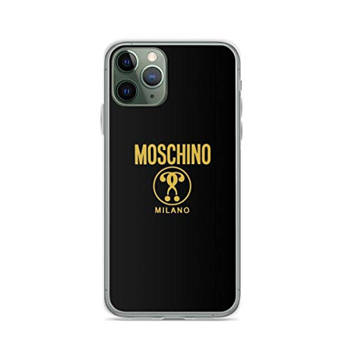 Mos-chi-no Milano Phone Case Compatible with iPhone 12 11 X Xs Xr 8 7 6 6s Plus Pro Max Samsung Galaxy Note S9 S10 S20 Ultra Plus