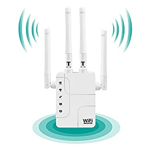 2021 WiFi Extender and Signal Amplifier,Wall-Through Strong WiFi Booster 1200Mbps- Newest Generation,up to 3000 Sq.ft…