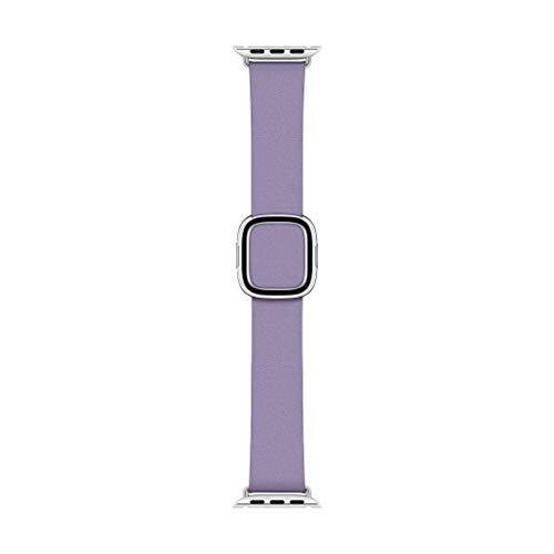 Preisvergleich Produktbild Apple Watch (40 mm) Modernes Lederarmband,  Flieder Large
