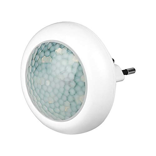Goobay 96501 LED-Nachtlicht mit Bewegungsmelder, Weiß, 0.7 x 0.8 x 0.5 cm