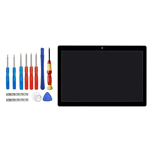 Vvsialeek Pantalla LCD compatible con Lenovo Tab M10 Tab 5 Plus TB-X605L TB-X605F TB-X605M TB-X605 10,1 pulgadas, color negro, repuesto para reparación de pantalla táctil LCD con kit de herramientas