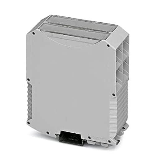 PHOENIX CONTACT ME MAX 45 G 2-2 KMGY - Carril de transporte (carcasa completa con cierre de metal, sin ranuras de ventilación, 45,2 mm de ancho, 99 mm de altura, 113,65 mm de profundidad, 10 unidades)
