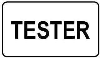 1,000 Tester Adesivi Nero 8 x 14mm Etichette in a Scelta tra 8 Colori