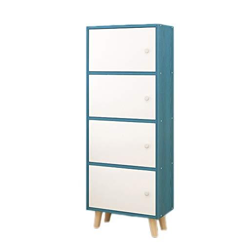JenLn Personity Nordic Bookshelf - creatief eenvoudig, modern combinatie-boekenrek - vloerbedekking woon- en werkkamer en kantoor