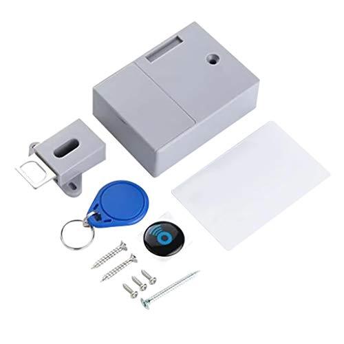 Yue668 Induktion RFID DIY Versteckte Sicherheit Sicherheitsschloss Digital Clever Schrank Kleiderschrank Schubladenschloss Schlösser für Schränke Schubladen