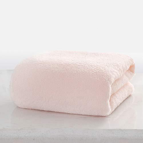 WYQ Grande Serviette de Bain Serviette après Bain, Coton, Super Doux, Super Absorbant, Respirant. Teinture écologique -140 × 70cm Siesta Go Out Child Blanket Serviette à Capuchon