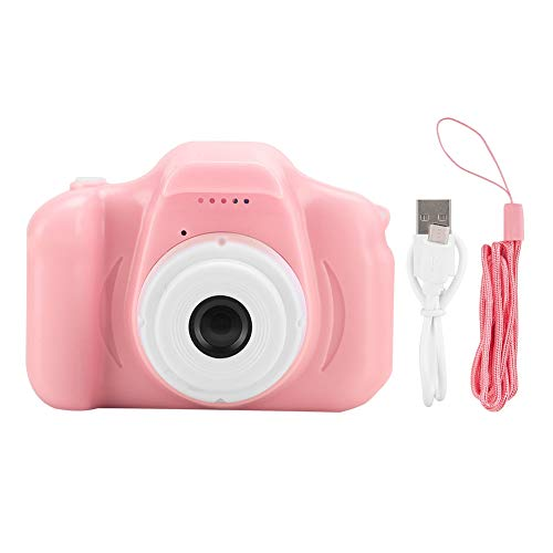 Exliy Tragbare Mini Kinder Kid Digitale Videokamera Kinder Kamera Spielzeug mit 2.0in IPS Bildschirm TFT Farbbildschirm Für Windows ME/2000/2003/p/vista/win7/Mac OS Linux(Rosa)