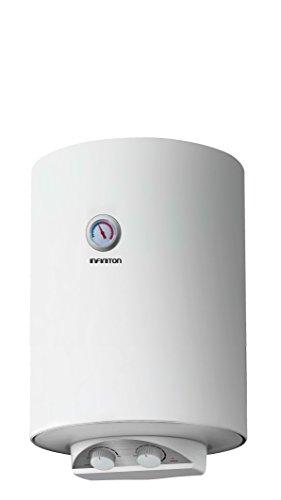 potente para casa Calentador eléctrico INFINITON de 50 litros (doble posición, resistencia …