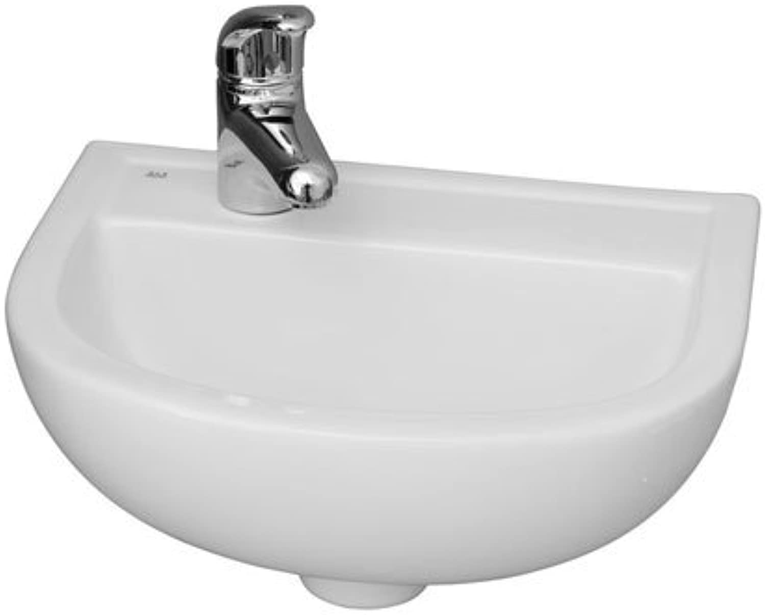 Barclay 4L-531WH Compact 15-Inch Wall Hung Basin with 1 Hole Left