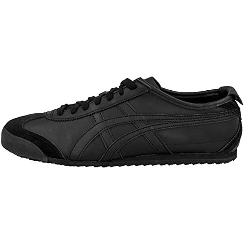 Onistuk Onistuka Tiger Mexico 66 Herren Sneakers, Schwarz (Black/Black 9090), 40.5 EU