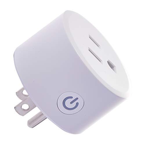 Zigbee Smart Plugs, Smart Outlets Work with Amazon Echo Plus Hub, SmartThings, Zigbee HA Hub, Alexa Home Assistant, Voice Phone Remote Control Plugs, Timer Function (Hub Required)