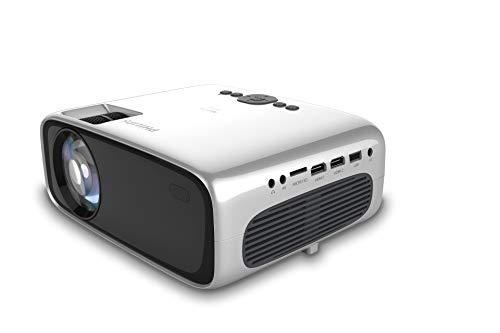 Philips Proyector de Bolsillo NeoPix Prime NPX540, LED, 3500 lúmenes LED, Full...