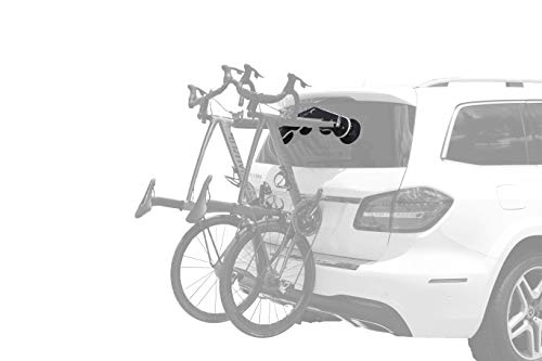 SeaSucker Mini Bomber Two Bike Rack for Cars USA Made Racks SUV, Sedan, Hatchback, RV, BMW, Honda, Tesla, Mazda and Every Other Car No Hitch Mount, Full Safety, Zero Damage, Travel Friendly Carrier