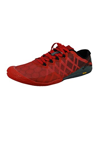 Merrell Men's Vapor Glove 3 Trail Runner, Molten Lava, 10 M US