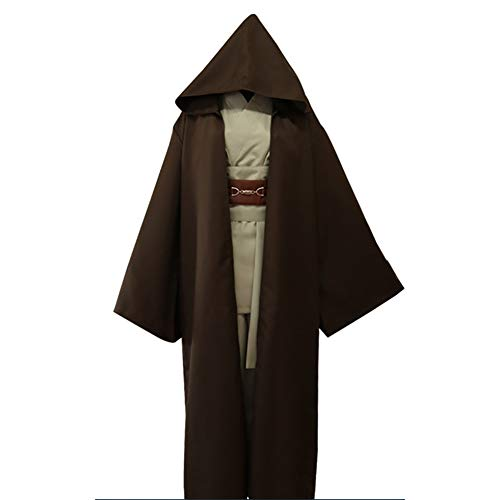 SHIXUE Star Wars Darth Vader Disfraz Cosplay Adulto Disfraz De Halloween Anime De Halloween,Marrón,XXL