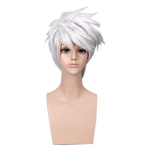 ALTcompluser Naruto Wig Perücke Für Hatake Kakashi Cosplay, Zubehör für Anime Party Merchandise