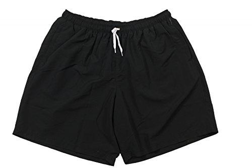 Abraxas Badehose Herren- Übergrößen bis 10XL, schwarz, Größe:4XL