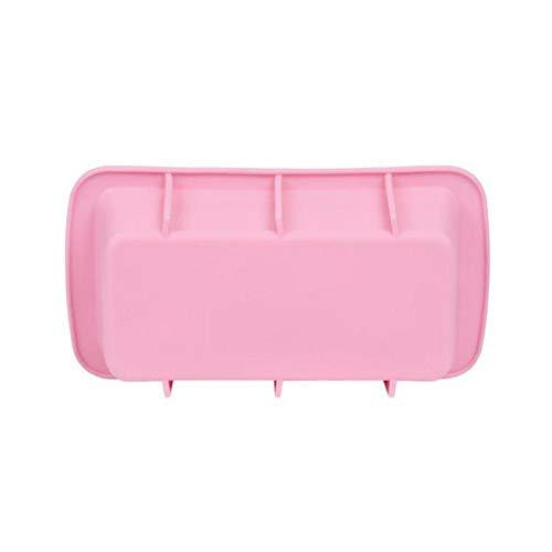 Étoile au Clair de Lune Cute Pink Pain Toast Moule Silicone Petit Rectangle Résine pâtisserie Toasts gâteau Moule ustensiles de Cuisson à la Main Pain Moule Savon Squar N9B5