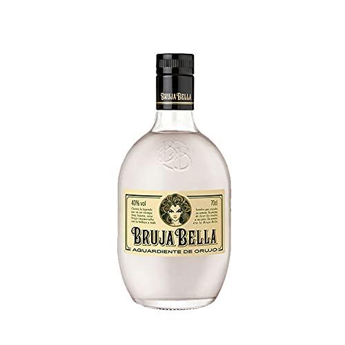 Licor Orujo Blanco Bruja Bella de 70 cl - Elaborado en A Coruña - Bodegas Grupo Caballero (Pack de 1 botella)
