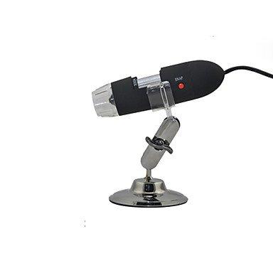 ZYT microscopio de medición 25-200 - x la impresión de detección portátil industrial microscopio USB portátil . black/white