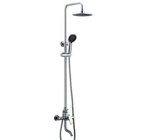 De mano Conjunto de ducha mixta Sistema de ducha de temperatura constante con una sola manija durable (Bath & Shower Faucet Type : Exposed Shower Faucets)