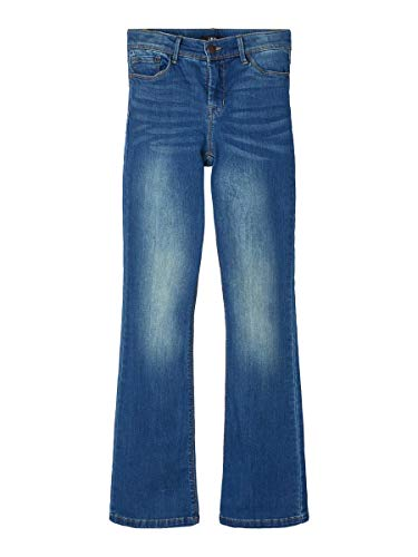 NAME IT Limited by Girl Jeans Bootcut 146Medium Blue Denim