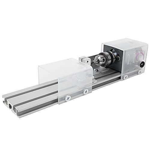 súper Molienda Torno Máquina, 0.6~6.5mm/0.02~0.26 en Arriba Para 140mm C.A. 100-240V 50/60Hz Lubricación Rociar Sistema Aleación