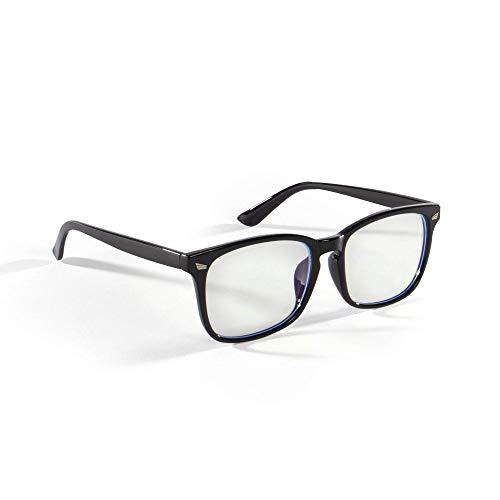 Filtro de luz azul gafas de lectura | Protege los ojos de los rayos azules y UV | Reduce la fatiga ocular, dolores de cabeza y fatiga | Protección de pantalla para computadora y teléfono | Pukkr