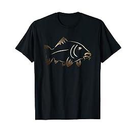 Carpe pêche attraper et relâcher cadeau dessin carpe T-Shirt