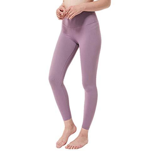 Fyj Donna Vita Alta Leggings Yoga Pants Fitness Spandex Palestra Pantaloni Sportivi Leggins Elasticizzati in direzioni Corsa Fitness Jogging Sportivi Dimagrante Pantaloni Allenamento Estate 2020 S