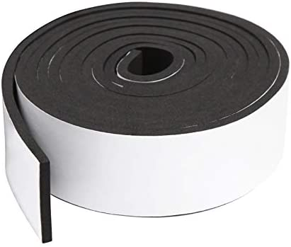 Foam Insulation Tape Self Adhesive Weather Stripping for Doors and Windows Sound Proof Soundproofing product image