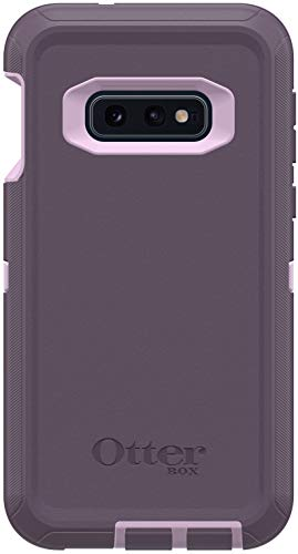 OtterBox Defender Series Screenless Edition Case for Samsung Galaxy S10E - Case Only - Belt Clip Holster Not Included - Non-Retail Packaging - Purple Nebula