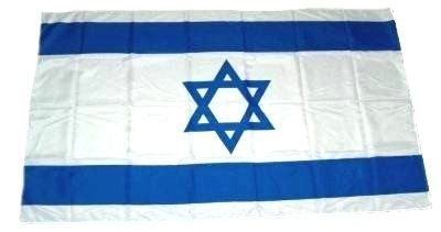 Fahne Stockflagge Israel NEU 30 x 45 cm Flaggen