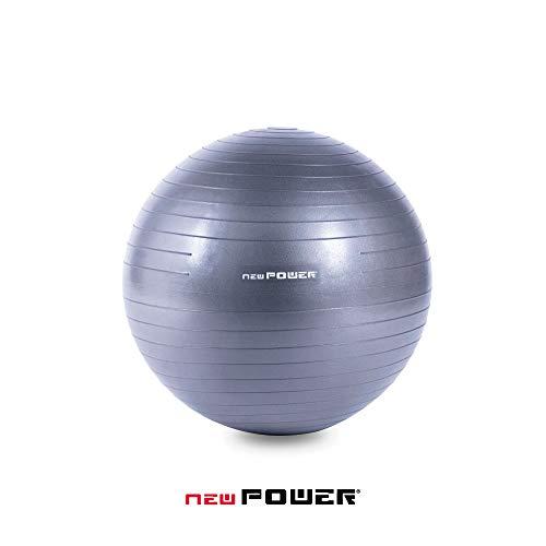 NEWPOWER - Pelota de Ejercicio Fitball 55cm