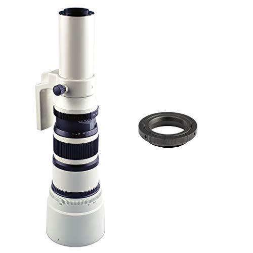 Shiwaki 500mm F / 6.3 Teleobjetivo Objetivo Fijo para Sony A99 A77 A68 A65 A58 A57 A37