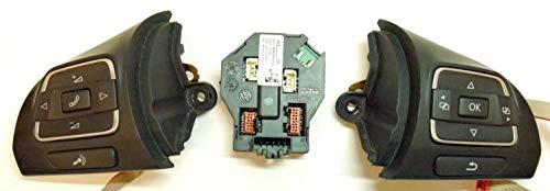 Mfsw Multifunktionslenkrad Modul Einheit Plus Regler Tasten 5K0959542C