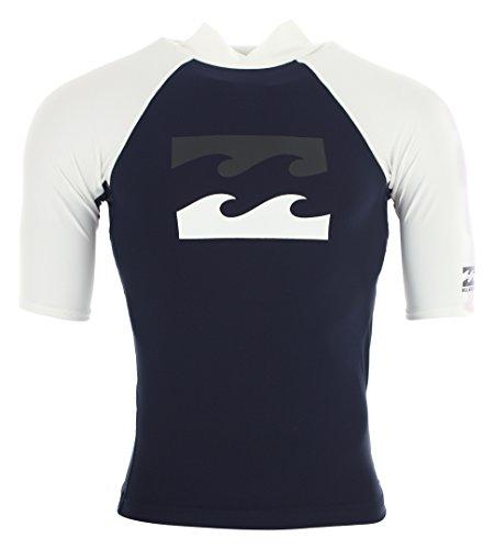 BILLABONG Team - Camiseta de Licra para Hombre, Hombre, Color Azul Marino, tamaño Small