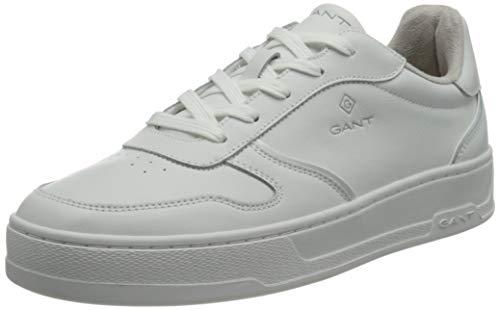 GANT FOOTWEAR Herren Saint-Bro Sneaker, white, 42 EU