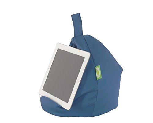 iPad, eReader & Book Mini Sitzsack von Bean Lazy passt für alle Tablets und eReaders - Französisch Blau