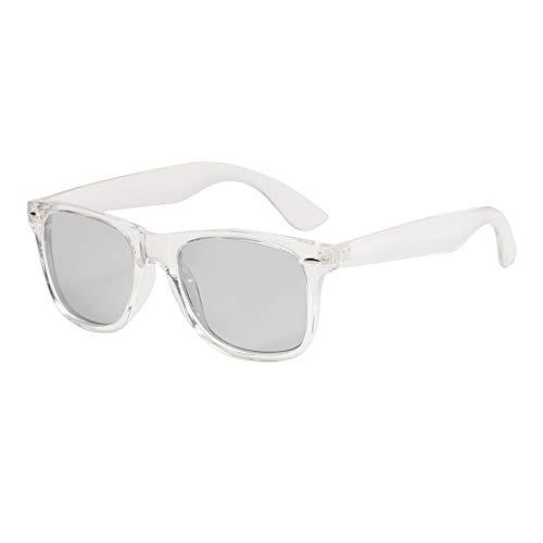 24 JOYAS Gafas de Sol Polarizadas Fotocromáticas Montura transparente con Funda y Gamuza – Gafas de Pasta Transparentes
