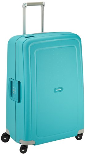 Samsonite S'Cure - Spinner L Suitcase, 75 cm, 102 Litre, Aqua Blue