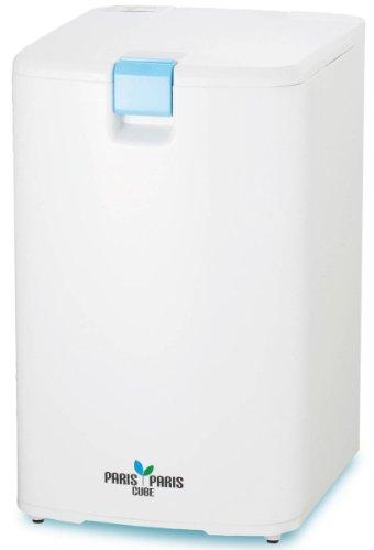 島産業 家庭用屋内型生ごみ処理機(乾燥式) 【パリパリキューブ】 ブルー PPC-01-BL